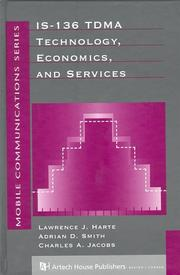 Cover of: IS-136 TDMA technology, economics, and services