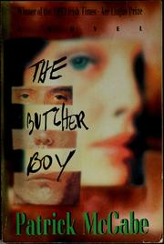 Cover of: The butcher boy | Patrick McCabe