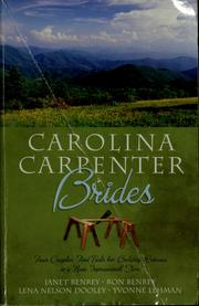 Cover of: Carolina Carpenter Brides