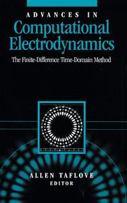 Cover of: Advances in Computational Electrodynamics