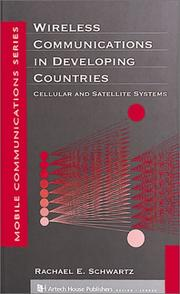 Cover of: Wireless communications in developing countries