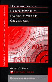 Cover of: Handbook of land-mobile radio system coverage | Garry C. Hess