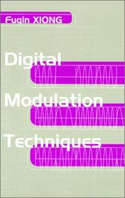 Cover of: Digital modulation techniques