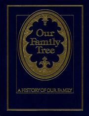 Cover of: Our Family Tree | Julie Hausner