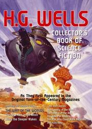 Cover of: The collector's book of science fiction by H.G. Wells: from rare, original, illustrated magazines