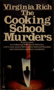 Cover of: The cooking school murders | Virginia Rich