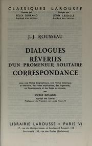 Cover of: Dialogues