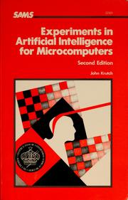 Cover of: Experiments in artificial intelligence for microcomputers | John Krutch