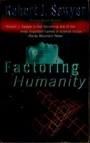 Cover of: Factoring humanity