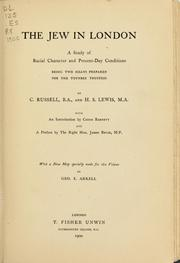Cover of: The Jew in London | C. Russell
