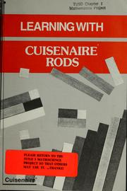 Cover of: Learning with cuisenaire rods