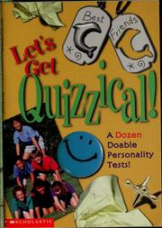 Cover of: Let's get quizzical!