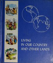 Cover of: Living in our country and other lands | Prudence Cutright