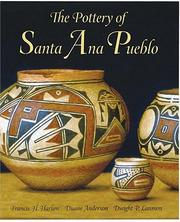 Cover of: pottery of Santa Ana Pueblo | Francis Harvey Harlow