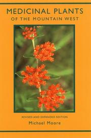 Cover of: Medicinal Plants of the Mountain West