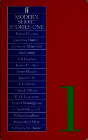 Cover of: Modern Short Stories One by Jim Hunter