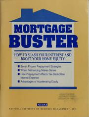 Cover of: Mortgage buster | Philip Springer