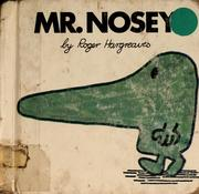 Cover of: Mr. Nosey (Mr. Men #4) | Roger Hargreaves