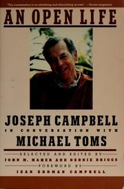 Cover of: An open life | Joseph Campbell