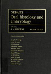 Orban S Oral Histology And Embryology 1976 Edition Open Library