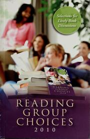 Cover of: Reading group choices 2010 |