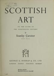 Scottish art to the close of the nineteenth century