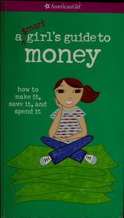 Cover of: A smart girl's guide to money
