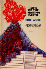 Cover of: Sons of the shaking earth