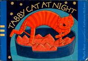 Cover of: Tabby Cat at night