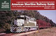 Cover of: American shortline railway guide