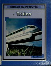 Cover of: Trains by June Loves