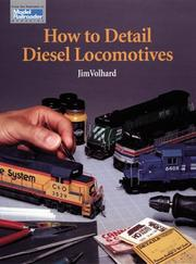 Cover of: How to detail diesel locomotives