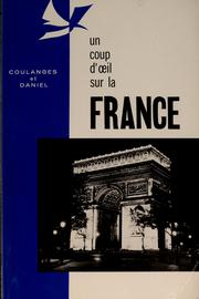 Cover of: Un coup d'oeil sur la France