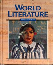 Cover of: World literature