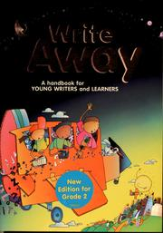 write away Write away: a handbook for young writers and learners [great source] on amazoncom free shipping on qualifying offers book by great source.