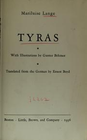 Cover of: Tyras