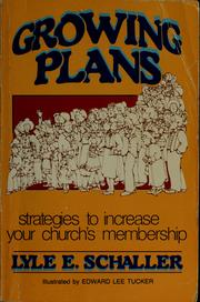 Cover of: Growing plans
