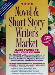 Cover of: 1998 novel & short story writer's market | Barbara Kuroff