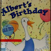 Cover of: Albert's birthday