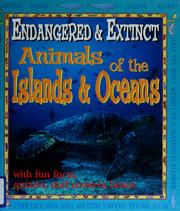 Cover of: Animals of the islands and oceans