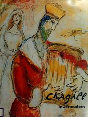 Cover of: Chagall in Jerusalem | Marc Chagall