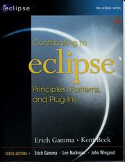Contributing to Eclipse by Erich Gamma
