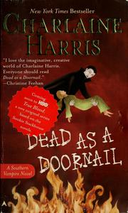 Cover of: Dead as a doornail