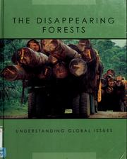 Cover of: The disappearing forests