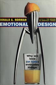 Cover of: Emotional design