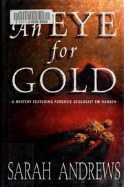 Cover of: An eye for gold | Sarah Andrews