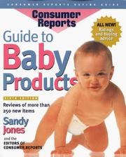Cover of: Guide to Baby Products (Best Baby Products)