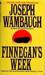 Cover of: Finnegan's week
