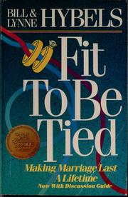Cover of: Fit to be tied