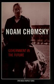 Cover of: Government in the future